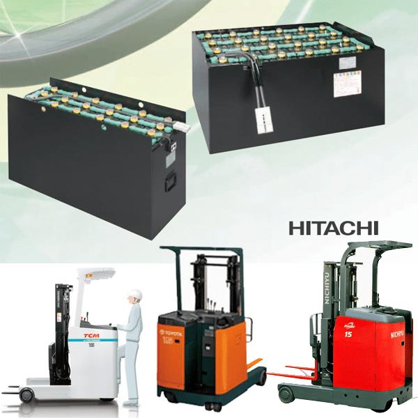 Ắc quy xe nâng điện Hitachi Nhật Bản