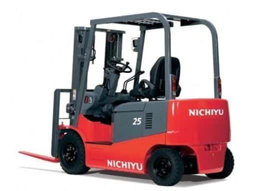 Ắc quy xe nâng cho xe nâng Nichiyu nhập khẩu Nhật Bản
