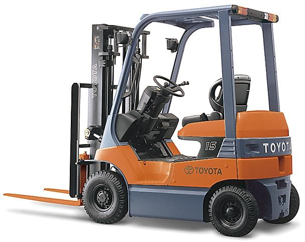 Mua Xe Nâng Toyota cũ giá rẻ các loại trọng tải từ 1,5 tấn đến 7 tấn