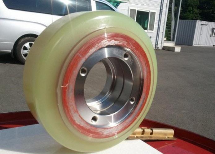 Bánh xe nâng PU, bánh xe nhựa PU