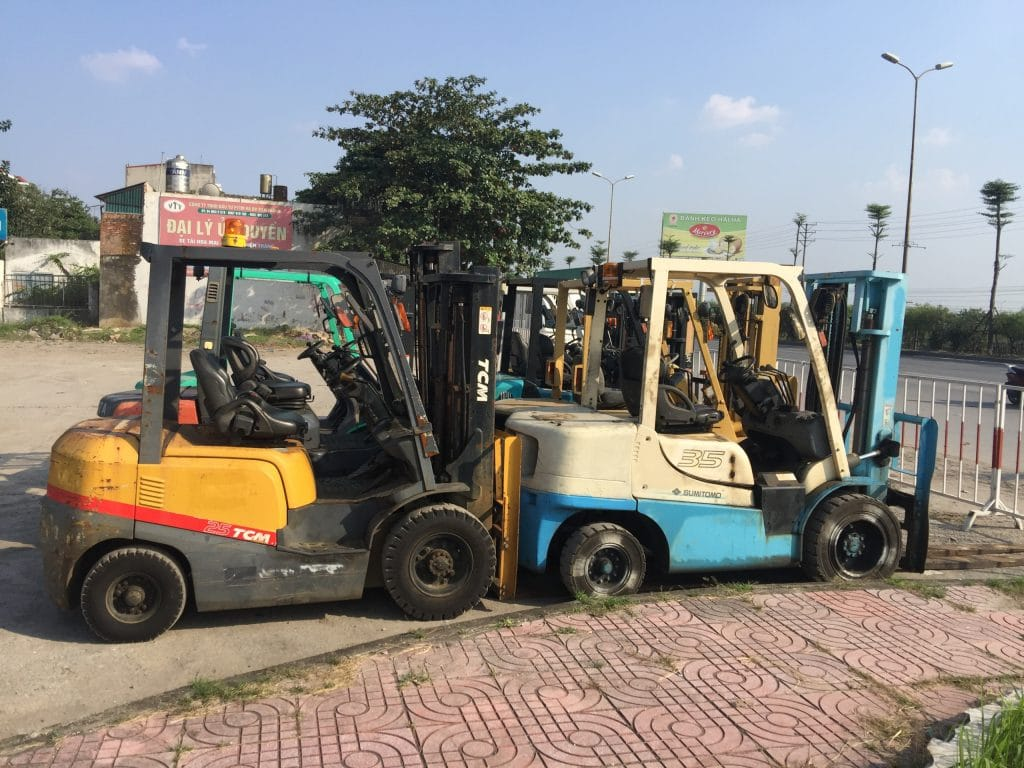 Cho thuê xe nâng tại Quế Võ, Bắc Ninh
