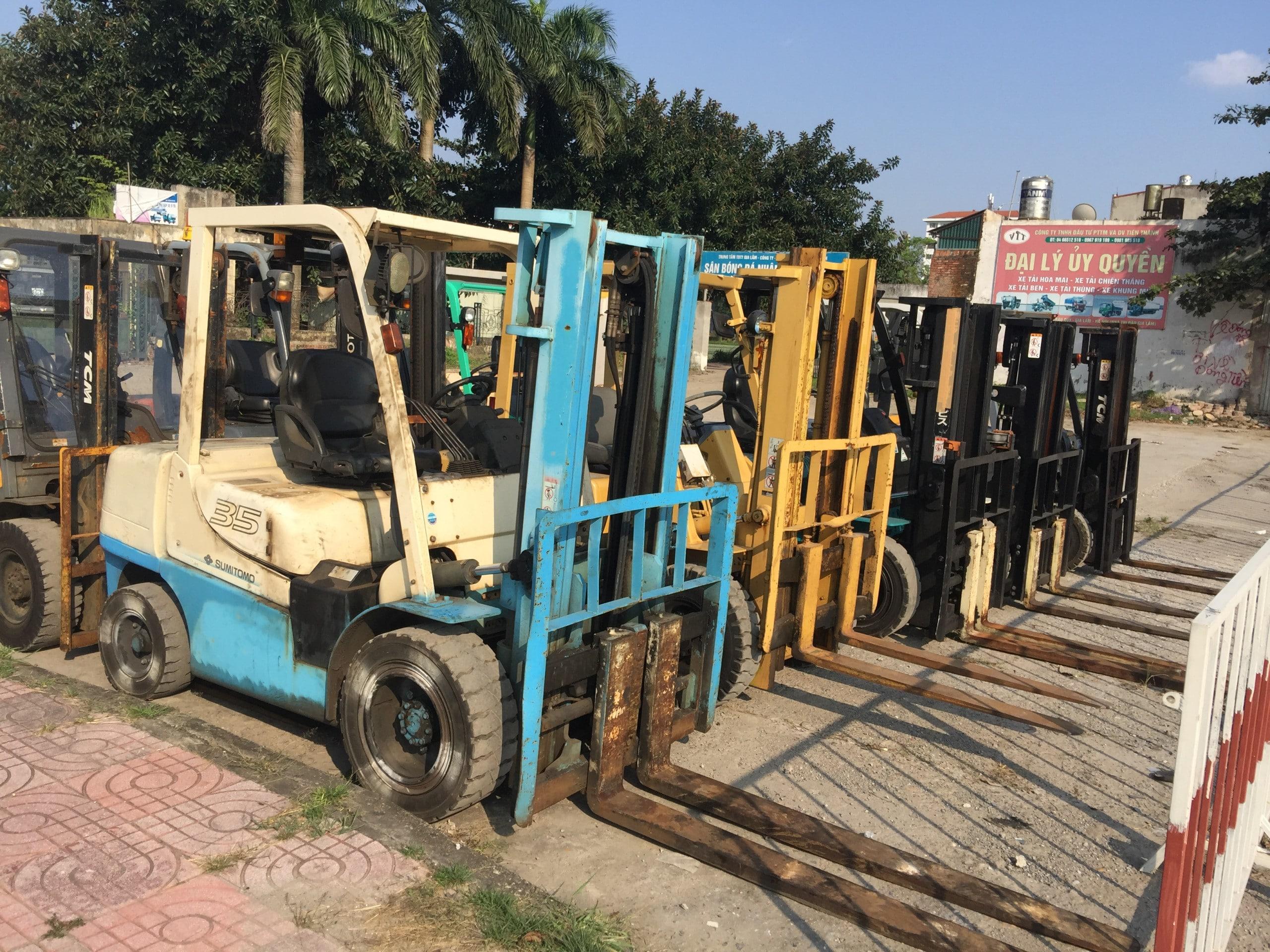 Cho thuê xe nâng tại Hà Nam