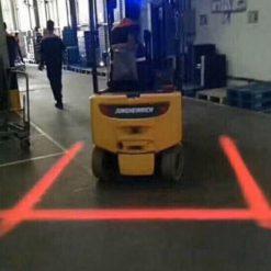 Đèn chiếu vạch xe nâng