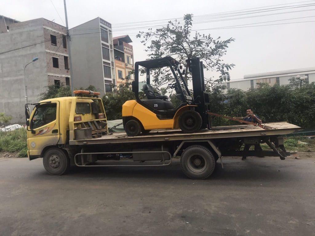 cho thuê xe nâng điện tại Bắc Ninh